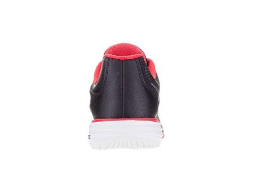 Nike Mens Corsa Fusione Tri Scarpa Da Corsa Nero / Università Rosso / Bianco Grigio / Freddo