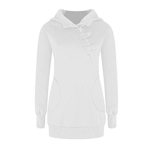Pullover Meijunter Manteau Sports Femmes Loisir Hoodie Longue Sweatshirt Chandail Manche T8w1xgpr8q