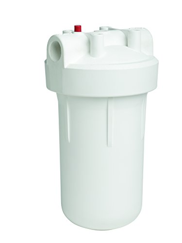 EcoPure EPWO4 Universal Large Capacity Whole Water Filter Housing-NSF Certified-Premium Filtration System-Built to Last, White