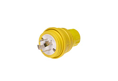 Woodhead 26W75 Watertite Wet Location Plug - 3Pole/4Wire Multiple Seal Plug Interface with NEMA L15-20 Configuration. Electrical Wiring ()