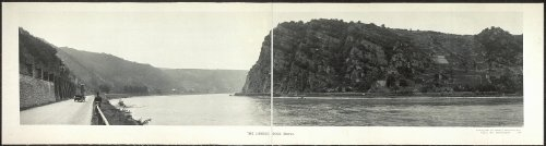 Photo The Lorelei Rock Rhine 1921