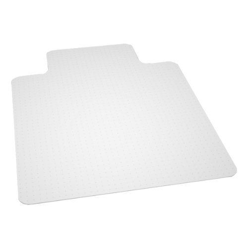 Lip Beveled Edge - E.S. Robbins 128383 Beveled Edge Chair Mat with Lip for Low to Medium Pile Carpet - 46 in. W x 60 in. L