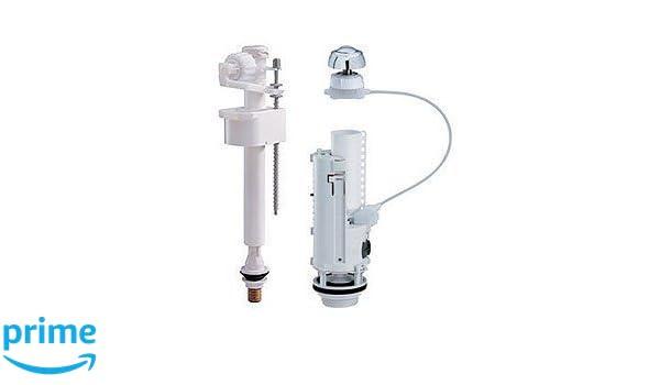 Kit de reparación para cisterna universal - para cisterna con pulsador: Amazon.es: Bricolaje y herramientas