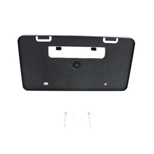 PT017312 - Corolla Front License Plate Bracket, Black, Ce/ L/ Le/ Le Eco Models (Group License Plate)