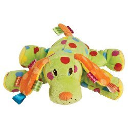 Taggies Plush Colours Spotty Dog by Taggies