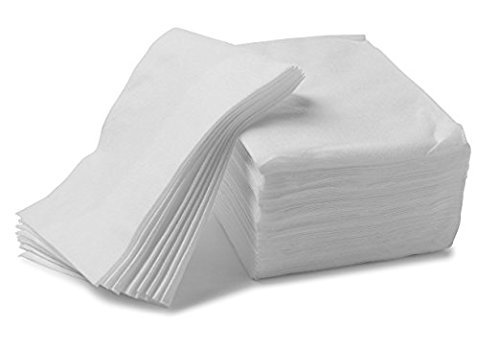 300 Vakly 7''X13'' Soft Disposable Dry Wipes/Absorbent Cleansing Cloths/Baby Wipes (300) (Cleansing Dry Wipes)