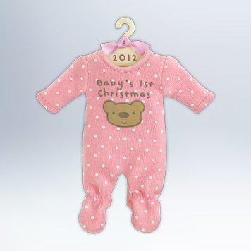 (Babys First Christmas 2012 Hallmark Ornament)