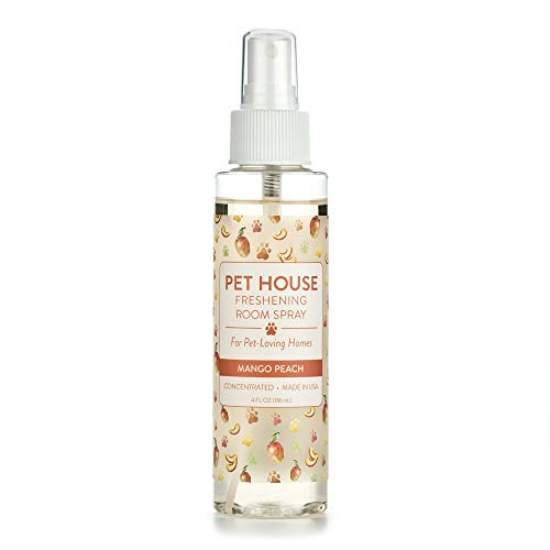 One Fur All Pet House Freshening Room Spray – Concentrated Air Freshening Spray Neutralizes Pet Odor – Non-Toxic…