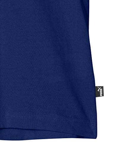 B Tee T Ess Maglietta Logo Blue Boy Puma sodalite blu tqRwap