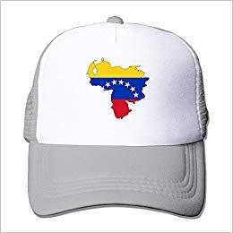 Venezuela Trucker Nylon Flag rongxincailiaoke béisbol Hat Map Gorras Adult Baseball Cap wq7x6SE
