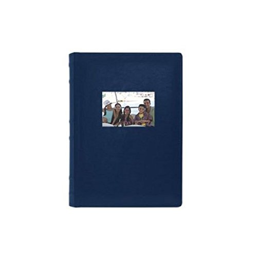 Old Town 2 Pack Leather Photo Albums - Navy