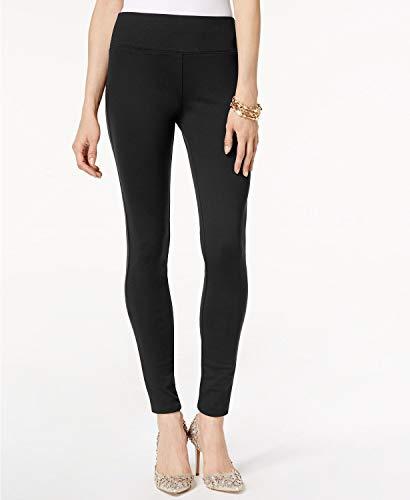 INC International Concepts I.N.C. Curvy Pull-On Skinny Pants (Deep Black, 10)