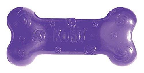 KONG Squeezz Bone Dog Toy, Medium, Colors Vary