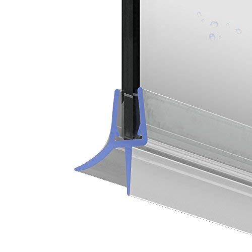 100cm M22 -- Ersatzdichtung für 5mm/6mm/ 7mm/ 8mm Glasdicke Wasserabweiser Duschdichtung Schwallschutz Duschkabine .one-bath