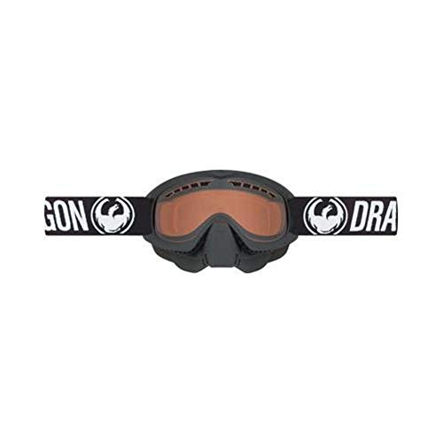 Dragon Alliance MDX Snow Goggles, Primary Color: Black, Distinct Name: Coal / Amber Lens, Gender: Mens/Unisex