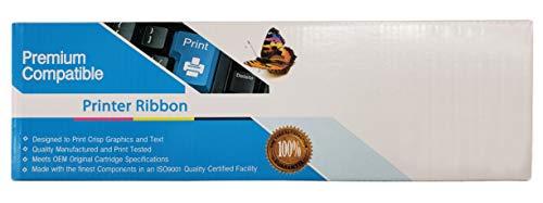 Bulk 8766 Epson Compatible Printer Ribbon, Black Ink: CR884 (12 Printer -