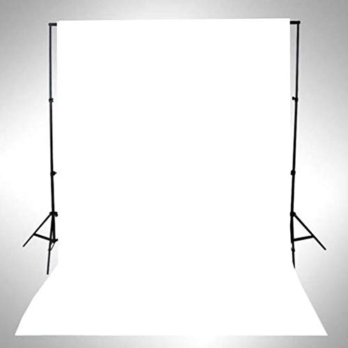 2018 Waterproof Photography Studio Background Pure Color Photography Backdrops Studio Props (White) (Pillow Lace Toss)
