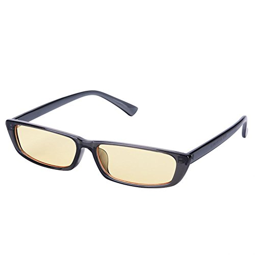 Gray Hombre de Yellow FTVOGUE Sol para Gafas RxXqa