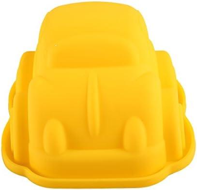 ケーキモールド 高温金型 車の形 9.5*8.5*5.5CM 色:ランダム