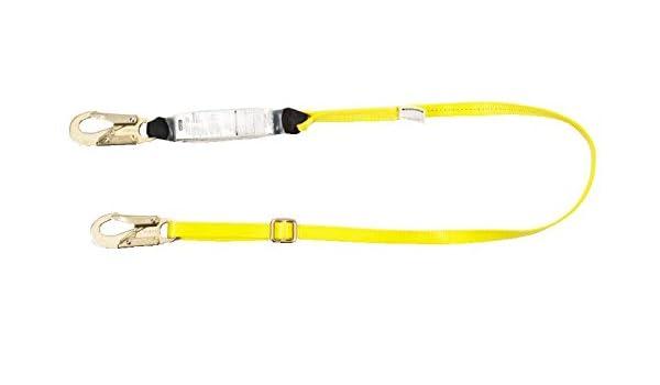 MSA 10129120 Workman cordón absorbente de energía, conexión de ...