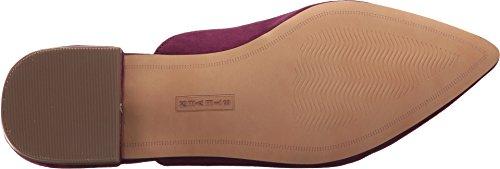 Steven Di Steve Madden Womens Valent-p Loafer Flat Burgundy Multi