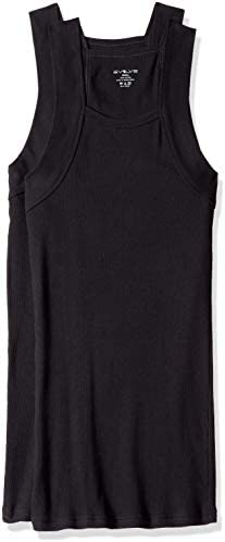 Evolve Men's Cotton Comfort Square Cut Tank Multi Pack
