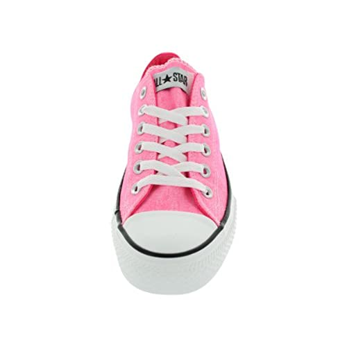 3d7d50c00bff hot sale Converse Chuck Taylor All Star OX Low Top Sneakers 136584F Neon  Pink 7 M