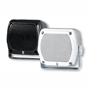 Poly-Planar Subcompact Box Speaker 80W (PR White) by Poly-Planar