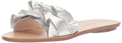 Loeffler Randall Women's Birdie (Metallic Goat) Flat Sandal