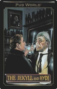 1388. Cartel Art Deco Pub World The Jekyll And Hyde ...