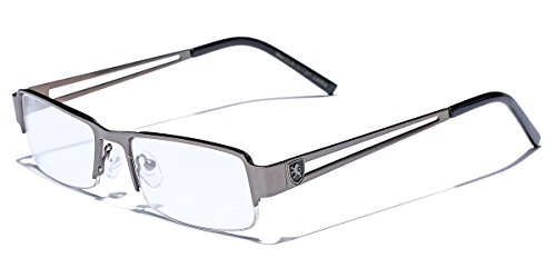- Small Rectangular Frame Clear Lens Designer Sunglasses RX Optical Eye Glasses