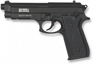 Swiss Arms PT92 METAL CO2 4.5 mm. Velocidad disparo: 110 m/s 361fps