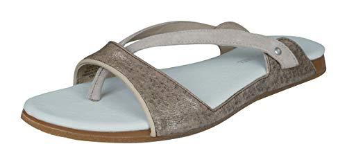 - PUMA Lancio Metallic Womens Leather Sandals -Bronze-7.5