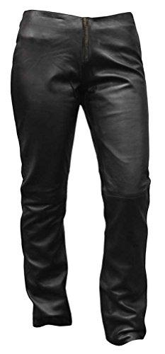 Women Leather Motorcycle Pants - 8