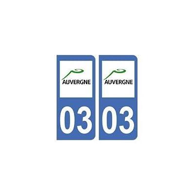 03 Allier autocollant plaque - droits