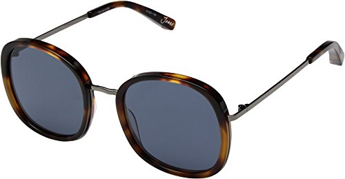 Elizabeth and James Women's Jones Tortoise/Gold/Blue Mono Lens - Jones Sunglasses