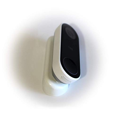AirTech Home Automation - Nest Hello Wedge - White (Classic Pill) - 30° to 45° Angle