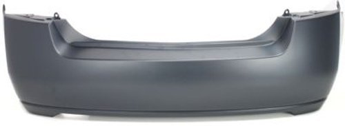 CPP Primed Rear Bumper Cover Replacement for 2007-2012 Nissan Sentra