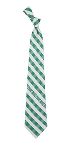 Brooklyn Nets Check Poly Necktie by Eagles Wings