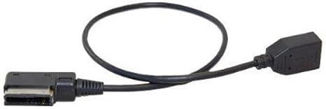 Hqrp Ami Mmi Mdi Usb Adapter Kabel Für Volkswagen Vw Elektronik