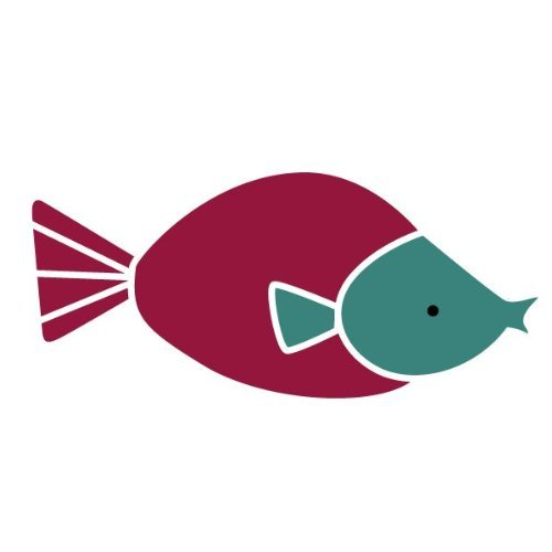 My Wonderful Walls Fish Stencil