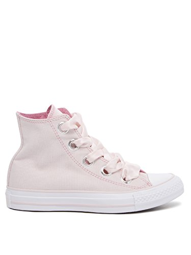 Converse Damen Chuck Taylor CTAS Big Eyelets Hi Canvas Fitnessschuhe Pink (Barely Rose/Light Orchid/White 653)