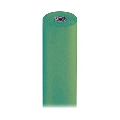 Pacon ArtKraft Duo-Finish Paper Roll, 3-feet by 1000-feet, Brite Green (67131) by Spectra ArtKraft Duo-Finish