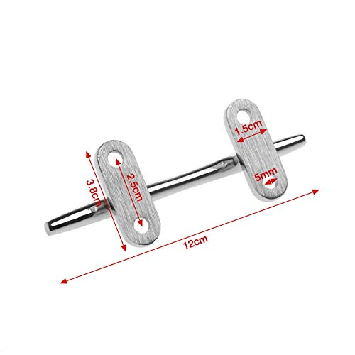 DHmart Base Boat Dock Deck Rope Cleat Marine Bollard Yacht Stainless Steel Sailing Lock Bolt