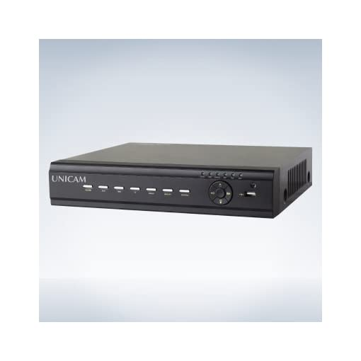 Unicam 4 Channel Analog DVR With Cortex A9, Take Up 1CH Audio Input An