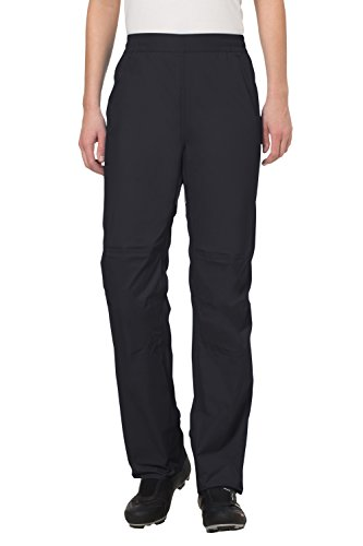 VAUDE Damen Hose Drop Pants II, Black, 40, 04966