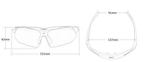 de Noche conducción Gafas la de visión Metal Green Hombre Nocturna Gafas Hombres Marco de para Coche antideslumbramiento de Ruanyi los Nocturna conducción de vidrios Sol de 1ftwndqH