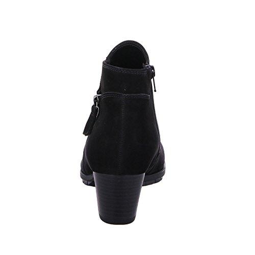 Ankle Gabor Comfort Nubuck Women's Basic Boots Black O0t6q