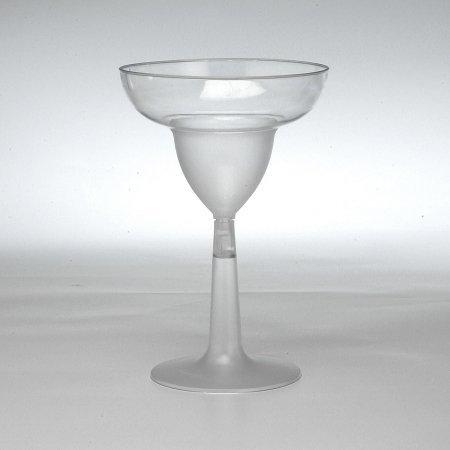 EMI Yoshi EMI-MGG12 2Pc. 12Oz. Clear Plastic Margarita Glass - Pack of 144