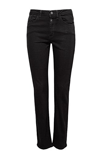 Esprit Straight Donna By Rinse Jeans black Edc 910 Nero vtqzxwI55